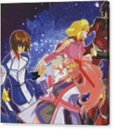 Mobile Suit Gundam Seed Destiny Canvas Print
