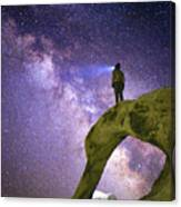Mobius Milky Way Canvas Print