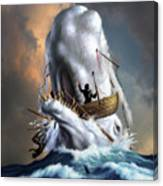 Moby Dick 1 Canvas Print