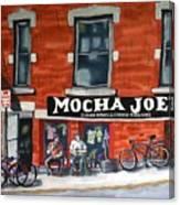 Mocha Joe's Canvas Print