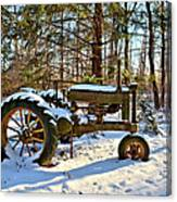 Model A Deere 2 Canvas Print