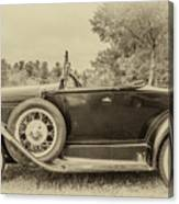 Model A Ford Roadster Canvas Print