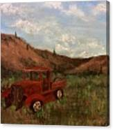 Model A Ghost Town Truck  Canvas Print