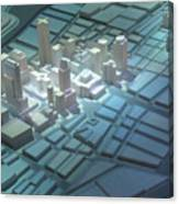 Model City 2 Canvas Print