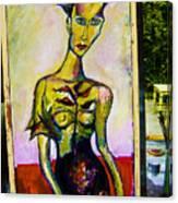 Model II Canvas Print