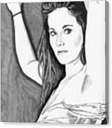 Model Shanna Canvas Print