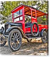 Model T Delivery Canvas Print