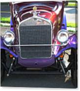 Model T Ford Front End 2 Canvas Print