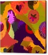 Modern Art Dove Canvas Print