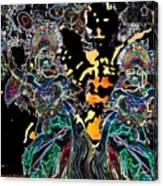 Modern Balinese Dance Canvas Print