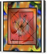 Modern Colours #2 Canvas Print