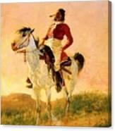Modern Comanche 1890 Canvas Print