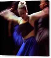 Modern Dance Motion Canvas Print