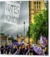 Modern Day Suffrage Canvas Print
