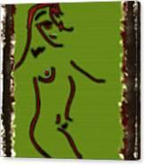 Modern Eygptian Canvas Print