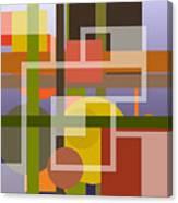 Modern Harmonious Abstract Canvas Print