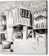 Modern Homes Canvas Print