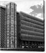 Modern Lisbon - The Palace Of Justice Canvas Print