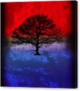 Modern Paintings Abstract Tree Wall Art Canvas Print