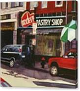 Modern Pastry Shop Boston Canvas Print