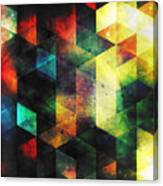Modern Quadratic Abstraction Canvas Print