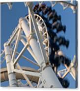 Modern Roller Coaster Canvas Print