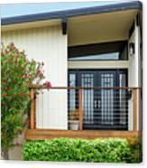 Modern Suburban House Hayward California 27 Canvas Print