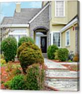Modern Suburban House Hayward California 32 Canvas Print