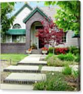 Modern Suburban House Hayward California 33 Canvas Print