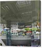 Modern Subway Station Design In Taiwan Canvas Print
