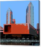 Modern Tampa Canvas Print