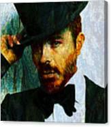 Modern Van Gogh Xiii Canvas Print