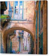Modica Street Canvas Print