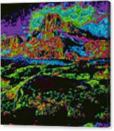 Modified Mountain D5b Canvas Print