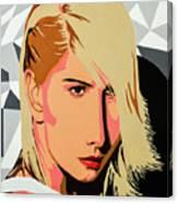 Modigliani Modern Canvas Print