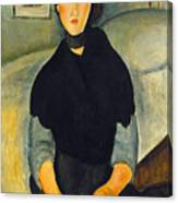 Modigliani: Woman, 1918 Canvas Print