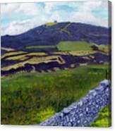 Moel Famau Hill Painting Canvas Print