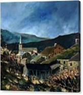 Mogimont Village Ardennes  Canvas Print