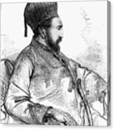 Mohammed Yakub Khan Canvas Print