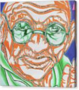 Mohandas Karamchand Gandhi  Canvas Print