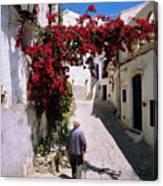 Mojacar,andalusia,spain Canvas Print