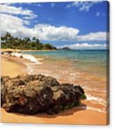 Mokapu Beach Maui Canvas Print