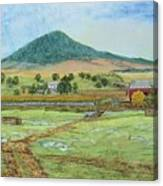 Mole Hill Panorama Canvas Print
