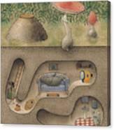 Mole Canvas Print