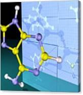 Molecular Design Canvas Print