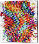 Molecular Floral Abstract Canvas Print