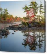 Molega Lake, Nova Scotia Canvas Print