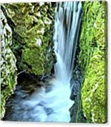 Moine Creek Goes Vertical Canvas Print