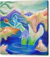 Molly Mermaid Canvas Print