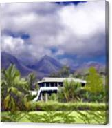 Moloa A Bay Hideaway Canvas Print